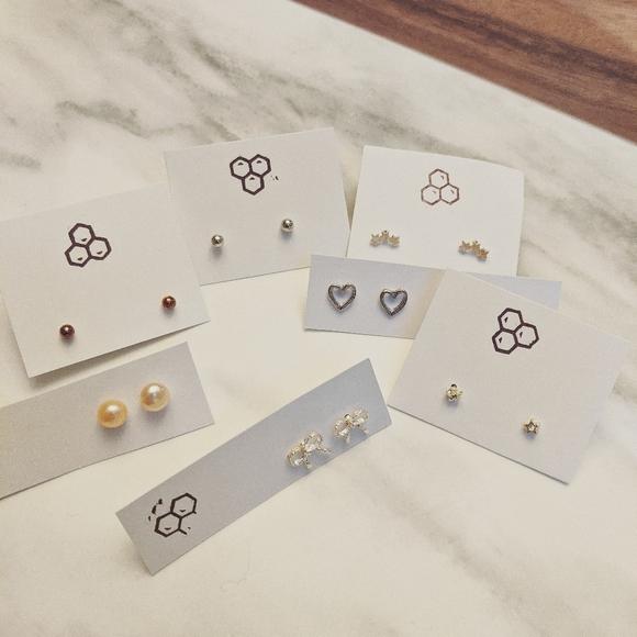 Stud Earrings Bundle | BOUTIQUE ✨